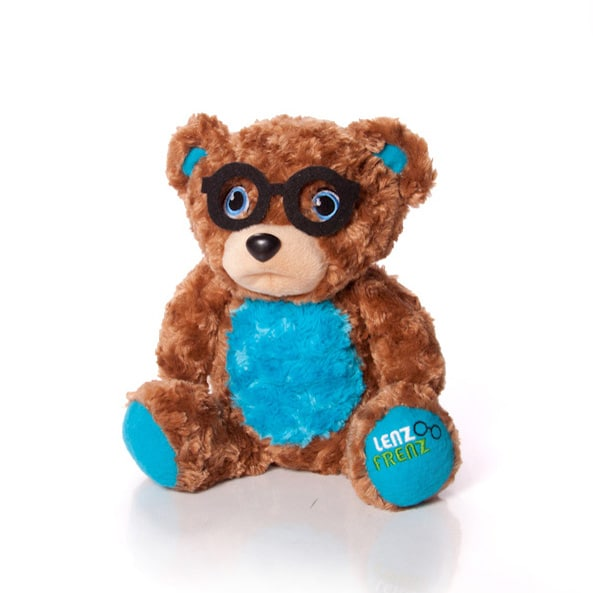 Lenz Frenz Teddy Bear with black glasses