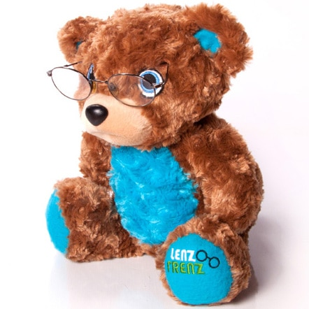Lenz Frenz Teddy Bear with glasses