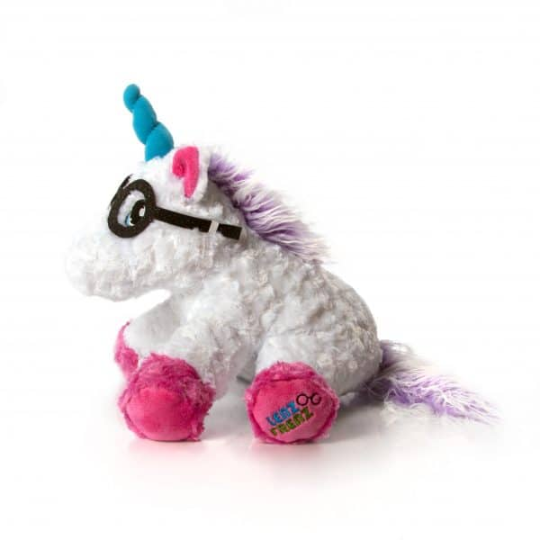 Lenz Frenz Unicorn glasses holder side view